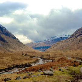 Glen Etive by Ruth Harlow - Landscapes Mountains & Hills (  )
