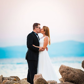 Bride & Groom by Paweł Mielko - Wedding Bride & Groom ( wedding photography, wedding photographers, wedding day, weddings, wedding, wedding photographer, bride and groom, bride, groom )