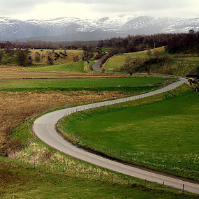 The Road Ahead... by Sannit Hazra - Novices Only Landscapes ( highlands, splendid scotland, scenic scotland )