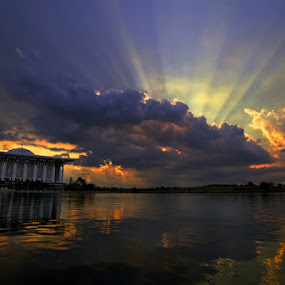 Sunset by Sharulfizam Adam - Landscapes Weather