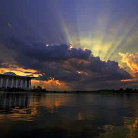 Sunset by Sharulfizam Adam - Landscapes Weather