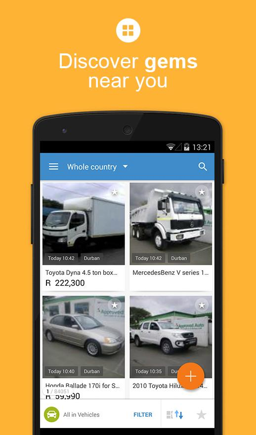 OLX South Africa: Sell and Buy Screenshot