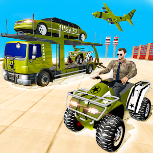 US Army Quad Bike limo Car Transporter Truck For PC / Windows 7/8/10 / Mac – Free Download