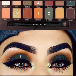 Trend makeup styles (step by step makeup) For PC