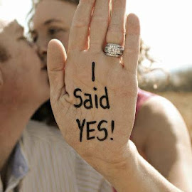 Aug 31 said yes by Rina Meintjes - People Couples
