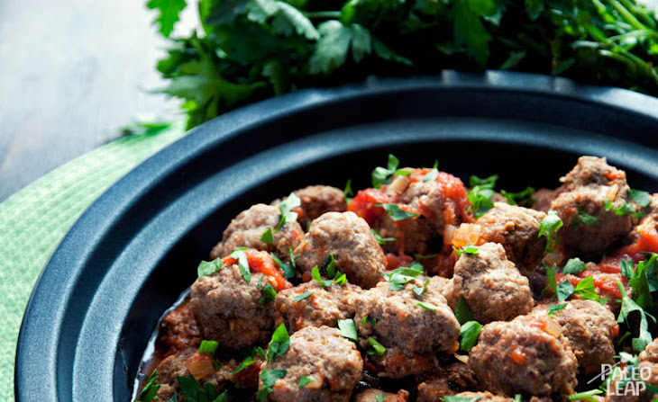 Spicy Meatballs With Fragrant Tomato Sauce Recipes — Dishmaps