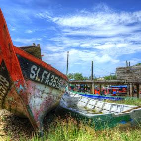 by Harris Daniel - Transportation Boats