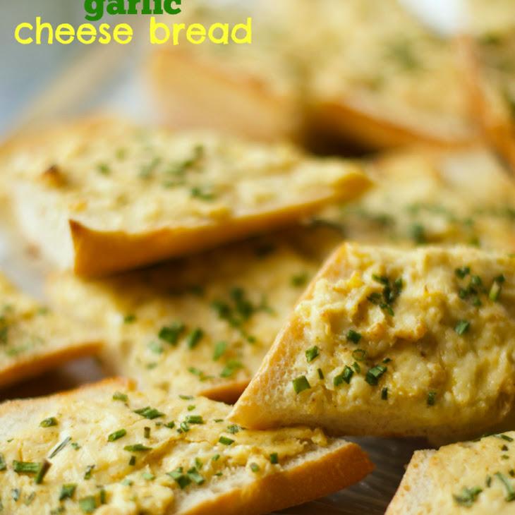 Garlic Cheese Bread Recipe | Yummly