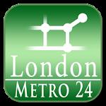 London tube + NR (Metro 24) Icon