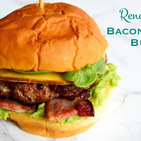 Renee Nicole's Bacon Avocado Burger