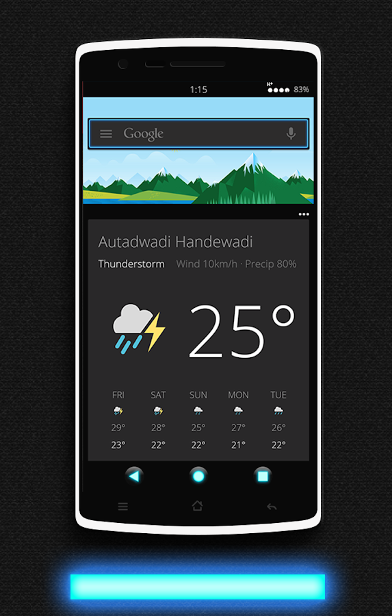 Glow CM13 CM12/12.1 Theme Screenshot 5