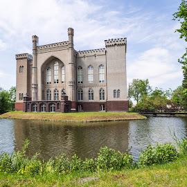 Castle in Kórnik, Poland by Tomasz B. - Buildings & Architecture Public & Historical ( castle, architecture, historical, kórnik, poland )
