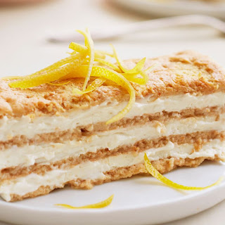 Lemon-Maple Icebox Cake