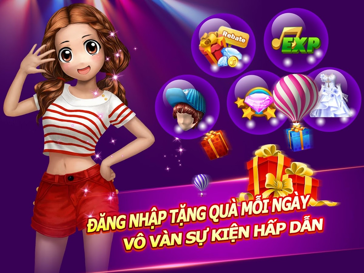 Super Dancer VN-AU Mobile 3D Screenshot 3