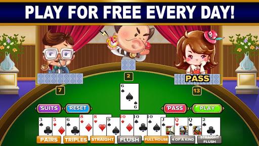 BIG 2: Free Big 2 Card Game & Big Two Card Hands! screenshot 3