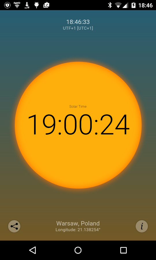 Solar Time Screenshot 3
