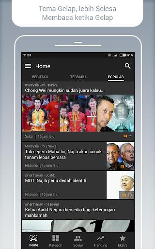 BaBe News - Berita Malaysia screenshot 4