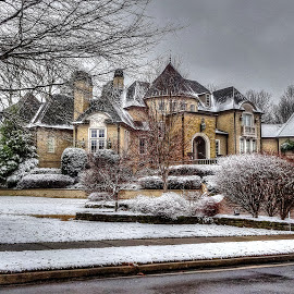 Winter in Germantown, Tennessee by Billy Morris - Buildings & Architecture Homes ( billy morris,  )