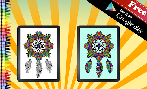 Adult Coloring Dreamcatcher- screenshot thumbnail