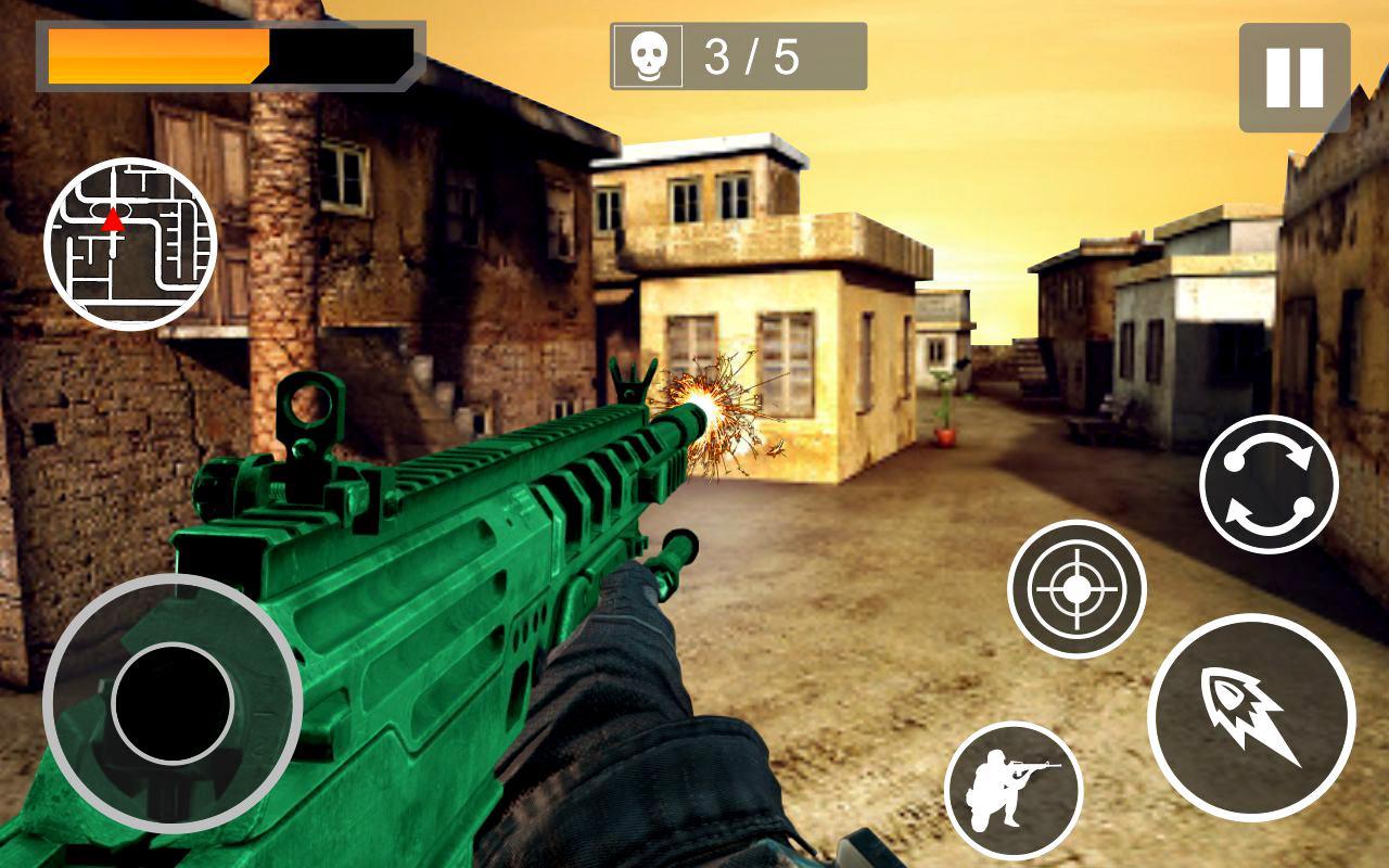 Scharfschütze Battle 3d: FPS Schießspiel android spiele download