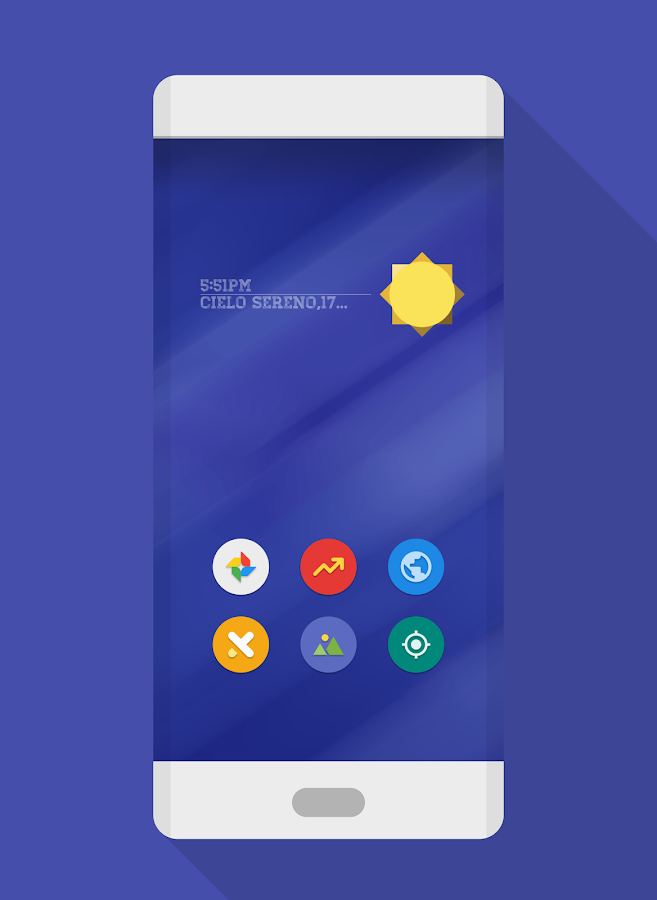 NAXOS FLAT ROUND - ICON PACK Screenshot 3