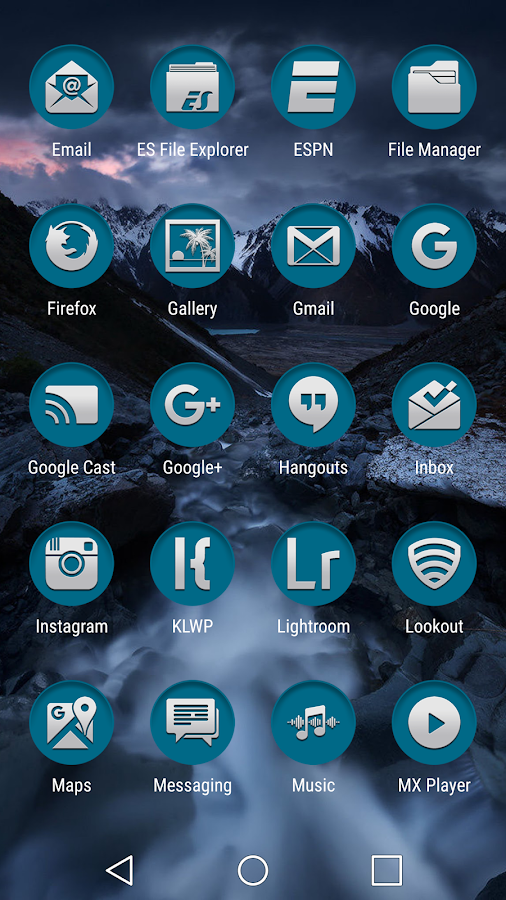 Based Turquoise Clean Screenshot 3