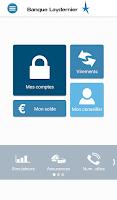 Screenshot of Banque Laydernier
