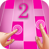 Pink Piano Tiles 2 APK for Bluestacks