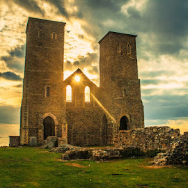 Reculver, Kent by Nic Evennett - Buildings & Architecture Decaying & Abandoned