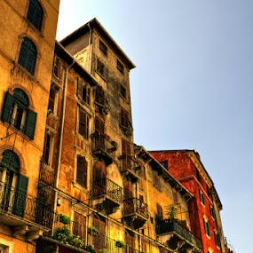 Verona by Bert Willers - City,  Street & Park  Street Scenes ( verona )