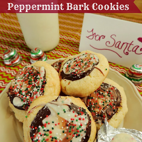 French Vanilla Peppermint Bark Cookies