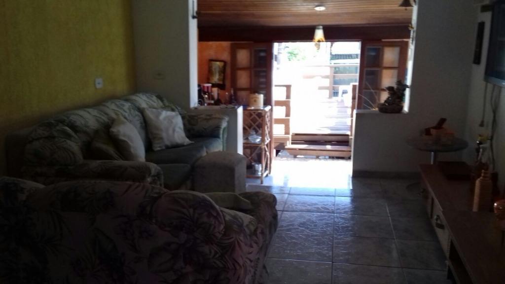 Sobrado à venda, 144 m² por R$ 495.000,00 - Pr Deserta - São Sebastião/SP