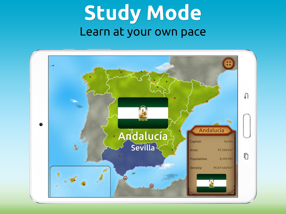 GeoExpert - Spain Geography Screenshot 7