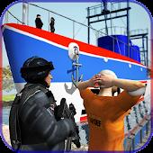 Police Criminal Transport Ship Prison Transporter APK for Bluestacks