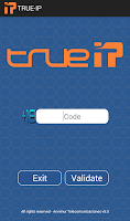 Screenshot of TRUE-IP
