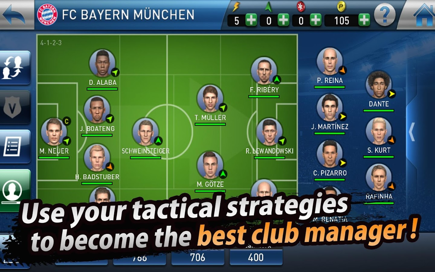 PES CLUB MANAGER Screenshot 9
