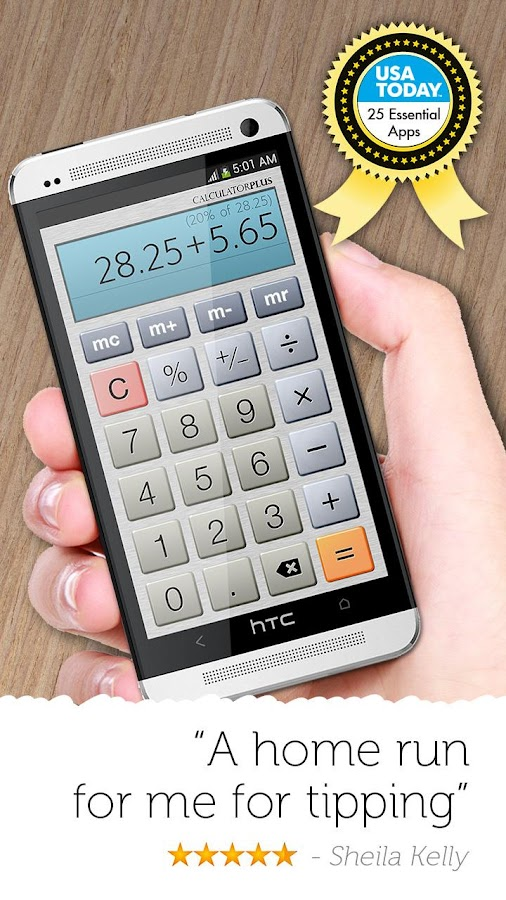 Calculator Plus Screenshot 2
