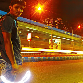 Speed by Aniket Das - Transportation Roads ( #selfcomposed, #speed, #dontstop, #automobile, #lowshetterspeed )