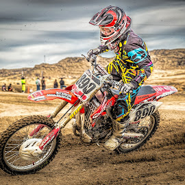Racing by Thomas Dilworth - Sports & Fitness Motorsports ( racing, moto, dirtbike, motorcross, motorcycle )