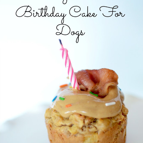 Mini Grain Free Birthday Cake For Dogs