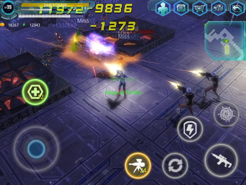 Alien Zone Raid Screenshot 5