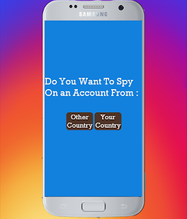 App Spy On Private Instagran prank APK for Kindle