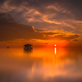 Floating House in Nain Island by UbayDilah syahrin Baba - Landscapes Sunsets & Sunrises