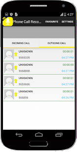 Call Recorder Rec Pro - screenshot