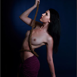 Hanging on by Clifford Els - Nudes & Boudoir Artistic Nude