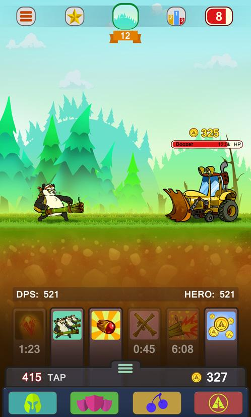 Forest Defenders: Panda's Fury Screenshot 2