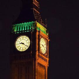 Big Ben, London England by Vicki Abbott Beatty - Buildings & Architecture Public & Historical