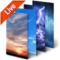 App Real Time Weather Live Wallpaper 3D APK for Kindle