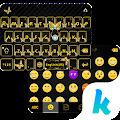 Gold Butterfly Kika Keyboard APK for Kindle Fire