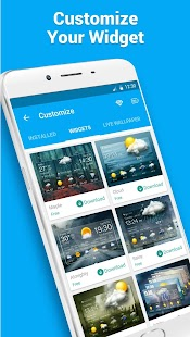App 7 Day Weather Forecast Widget apk for kindle fire